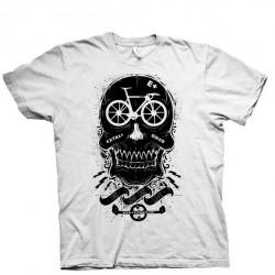 T-Shirt Extra+ Skull Fix Bianca
