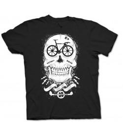 T-Shirt Extra+ Skull Fix Nera